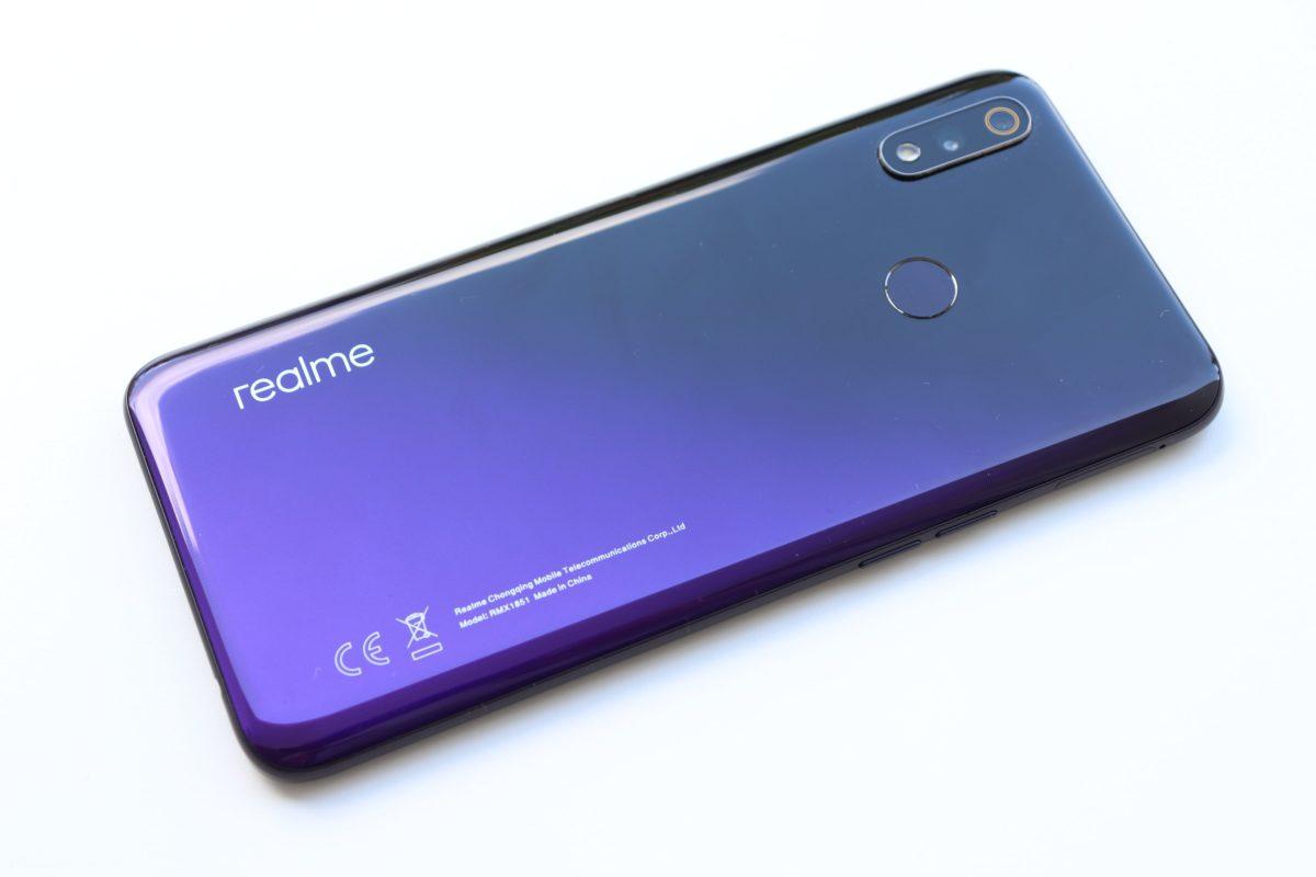 Realme 3 pro backside plastic