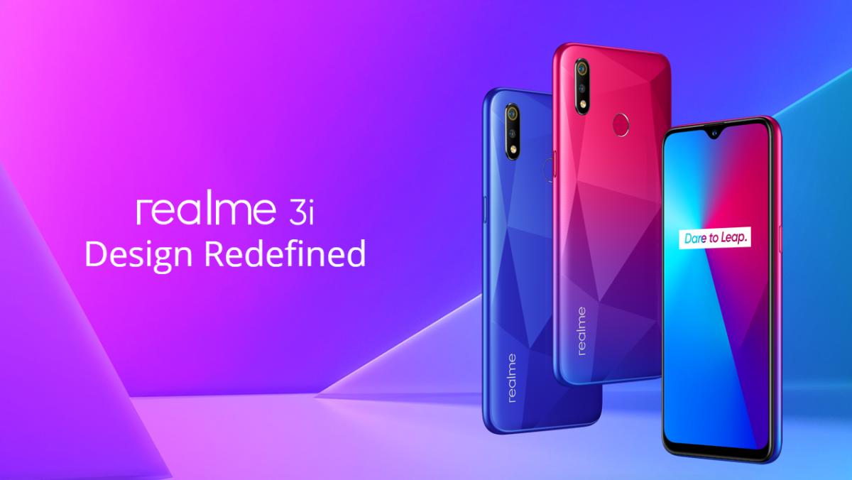 Realme 3i vorgestellt 2