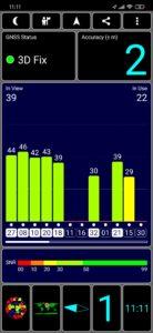Redmi Note 8 GPS Test 1