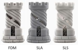 SLA vs FDM 2