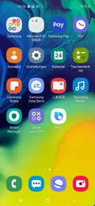 Samsung Galaxy A60 Testbericht Screenshot 2