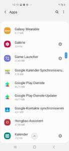 Samsung Galaxy A60 Testbericht Screenshot 4
