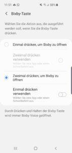 Samsung s10e bixby button deaktivieren 1