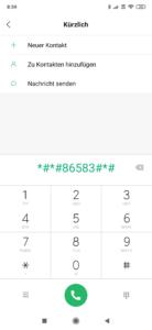 VoLTE aktivieren Xiaomi Smartphone 2
