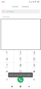 VoLTE aktivieren Xiaomi Smartphone 3