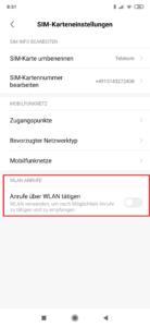 VoWIFI Xiaomi MIUI 10 freischalten 3