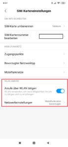 VoWIFI Xiaomi MIUI 10 freischalten 4