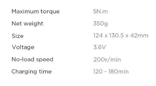 Xiaomi Akkuschrauber Eigenschaften