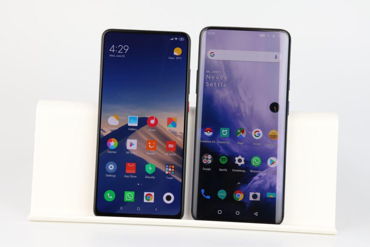 Xiaomi Mi 9T Pro vs. Oneplus 7 Pro
