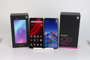 Xiaomi Mi 9T und Mi 9T Pro Vergleich 1