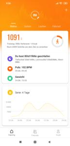 Xiaomi Mi Band 4 Mi Fit App