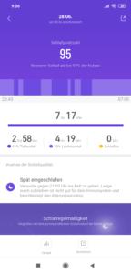 Xiaomi Mi Band 4 Schlafen