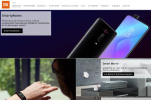 Xiaomi Deutschland Amazon Schaufenster 2