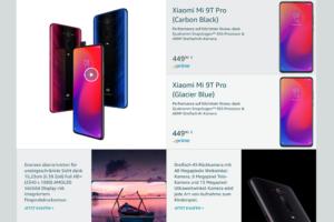 Xiaomi Deutschland Amazon Schaufenster 3