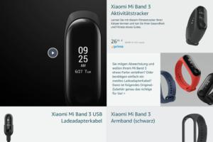 Xiaomi Deutschland Amazon Schaufenster 4