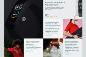 Xiaomi Deutschland Amazon Schaufenster 5