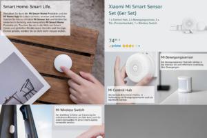 Xiaomi Deutschland Amazon Schaufenster 6