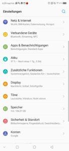 ZTE Axon 10 pro android 1